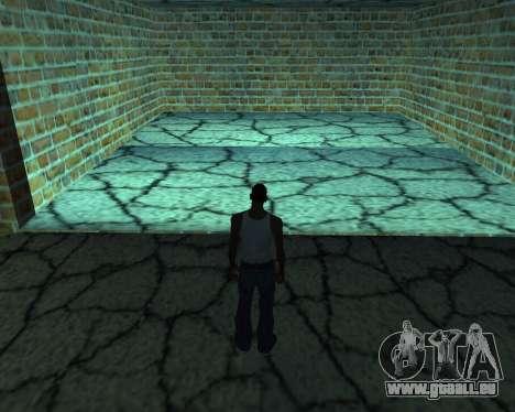 Nouveau garage de l'Arménie pour GTA San Andreas quatrième écran