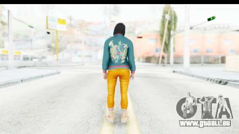 Cunning Stunts DLC Female Skin für GTA San Andreas dritten Screenshot