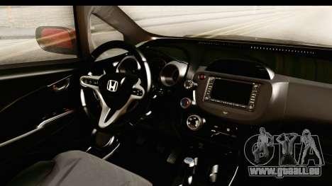 Honda Fit Sport 2009 für GTA San Andreas Innenansicht