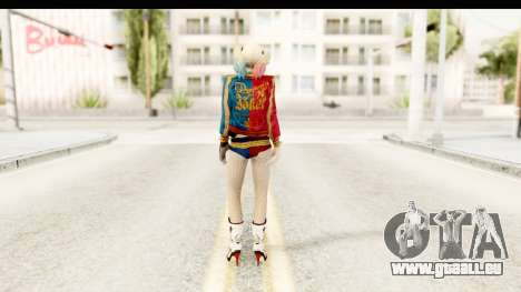 Suicide Squad - Harley Quinn für GTA San Andreas dritten Screenshot