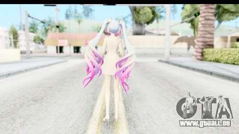 White Dress Miku für GTA San Andreas dritten Screenshot
