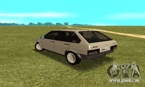2109 pour GTA San Andreas sur la vue arrière gauche