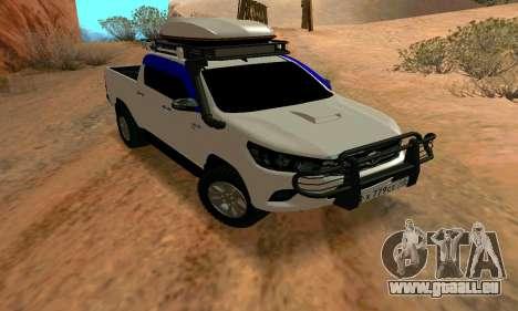 Toyota Hilux pour GTA San Andreas
