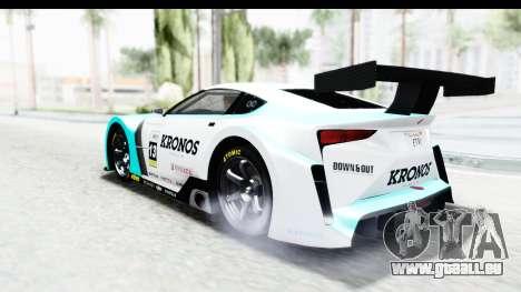 GTA 5 Emperor ETR1 IVF pour GTA San Andreas salon