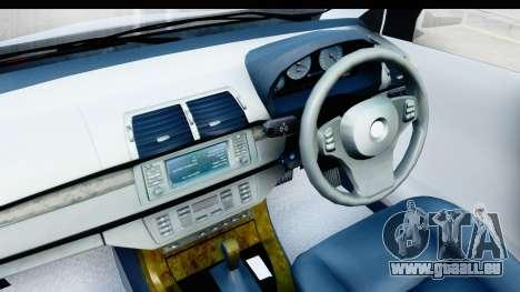 Toyota Avanza Veloz 2012 v1.1 für GTA San Andreas Rückansicht