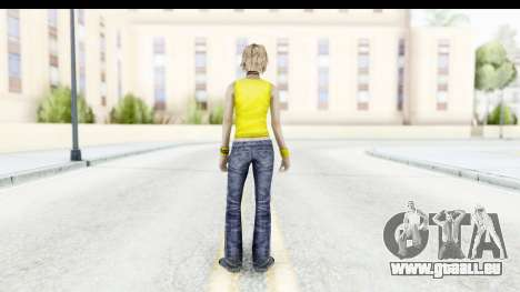 Silent Hill 3 - Heather Sporty Yellow Glasses für GTA San Andreas dritten Screenshot