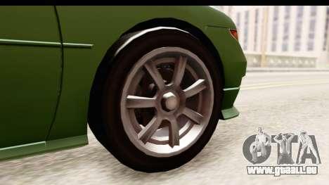 GTA 5 (4) Dinka Perennial pour GTA San Andreas vue arrière