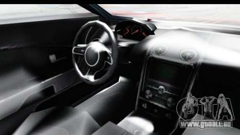 GTA 5 Vapid Bullet Face FMJ für GTA San Andreas Innenansicht