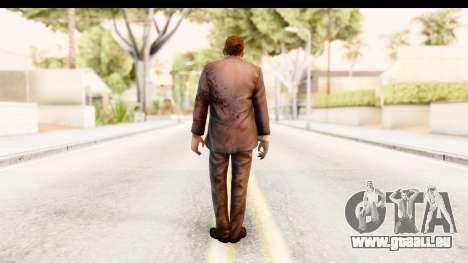 Left 4 Dead 2 - Zombie Suit pour GTA San Andreas troisième écran