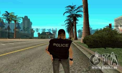 Female SWAT-trainer für GTA San Andreas dritten Screenshot
