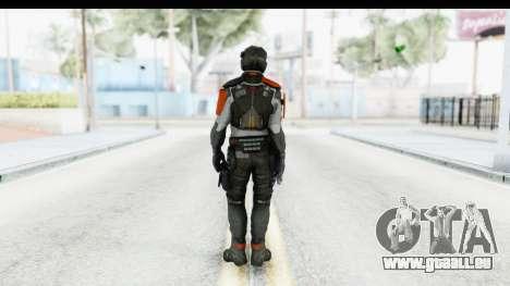 Homefront The Revolution - KPA v5 Captain für GTA San Andreas dritten Screenshot