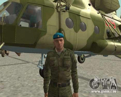 Pak-Kämpfer airborne für GTA San Andreas fünften Screenshot