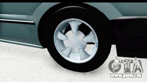 Renault 19 RE pour GTA San Andreas vue arrière