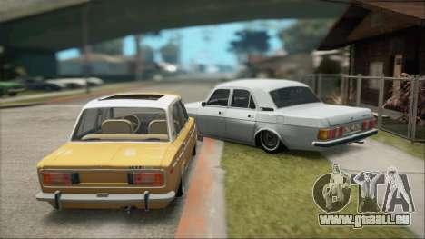VAZ 2106 Summer pour GTA San Andreas vue de droite