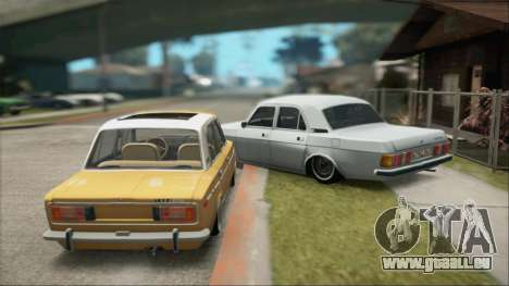 VAZ 2106 Summer für GTA San Andreas rechten Ansicht