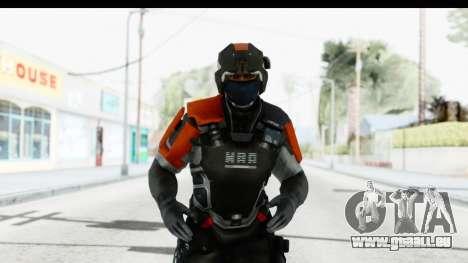 Homefront The Revolution - KPA v4 Captain pour GTA San Andreas