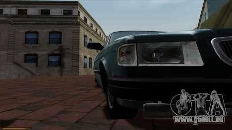 GAZ 3110 Volga für GTA San Andreas rechten Ansicht
