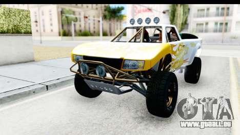 GTA 5 Trophy Truck IVF für GTA San Andreas Seitenansicht