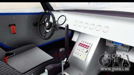 GTA 5 Bravado Banshee 900R Carbon Mip Map IVF pour GTA San Andreas vue intérieure