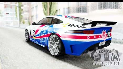 GTA 5 Ocelot Lynx SA Lights PJ pour GTA San Andreas salon