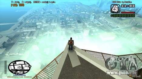 FOV Editor pour GTA San Andreas