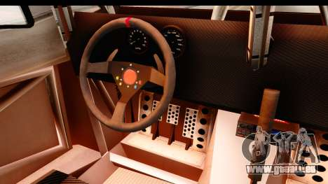 GTA 5 Desert Raid SA Lights PJ pour GTA San Andreas vue intérieure