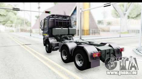 Tatra Phoenix Agro Truck v1.0 pour GTA San Andreas laissé vue