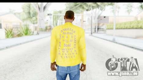 I Feel Like Kobe Sweatshirt pour GTA San Andreas troisième écran