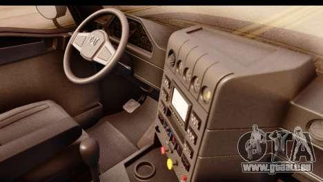 CAT CT 660 v1.0 für GTA San Andreas Rückansicht
