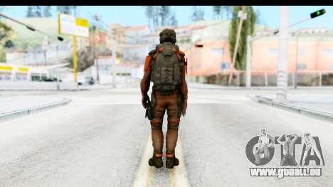 Homefront The Revolution - KPA v3 Red pour GTA San Andreas troisième écran