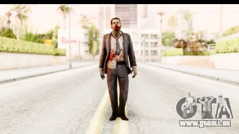 Left 4 Dead 2 - Zombie Suit pour GTA San Andreas deuxième écran