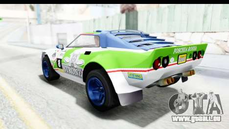 GTA 5 Lampadati Tropos Rallye No Headlights IVF pour GTA San Andreas salon