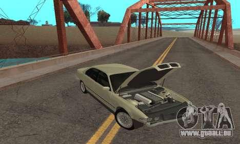 BMW 730 pour GTA San Andreas vue de côté