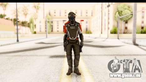 Homefront The Revolution - KPA v2 Captain pour GTA San Andreas deuxième écran