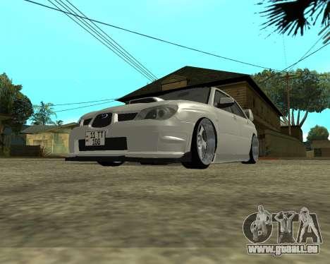 Subaru Impreza Armenian für GTA San Andreas