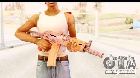AKS-74U für GTA San Andreas dritten Screenshot
