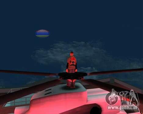 Nouvelle lune arménien pour GTA San Andreas troisième écran
