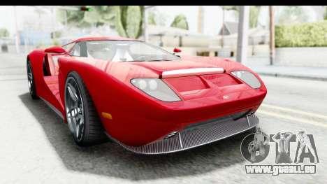 GTA 5 Vapid Bullet Face FMJ für GTA San Andreas
