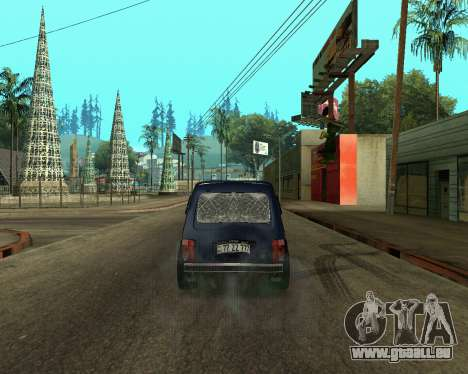 Niva 2121 Armenian pour GTA San Andreas vue de droite