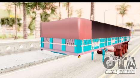 Trailer Brasil v4 pour GTA San Andreas vue de droite