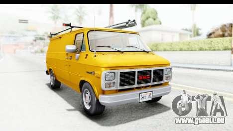 GMC Vandura 1985 HQLM für GTA San Andreas