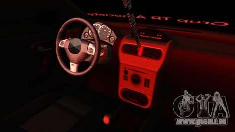 Opel Corsa pour GTA San Andreas vue de côté