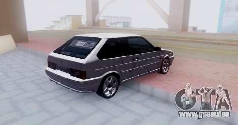 VAZ 2113 LoudSound für GTA San Andreas rechten Ansicht