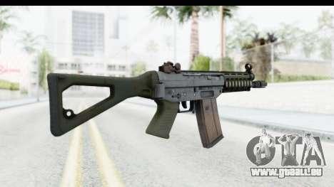 SG553 pour GTA San Andreas deuxième écran