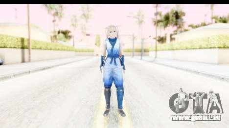 DoA 5: LR - Marie Rose Ninja für GTA San Andreas zweiten Screenshot