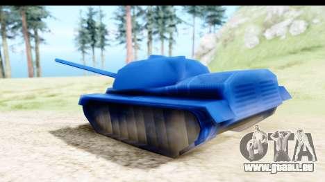 Tank M60 from Army Men: Serges Heroes 2 DC für GTA San Andreas zurück linke Ansicht