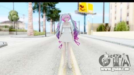 White Dress Miku für GTA San Andreas zweiten Screenshot