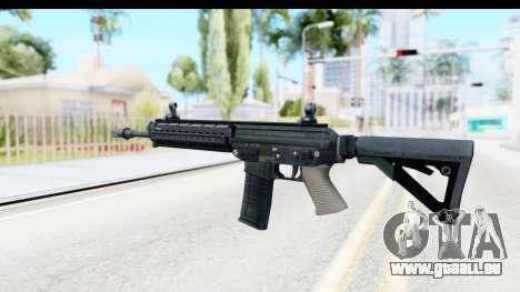 SG556 pour GTA San Andreas deuxième écran