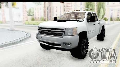 Chevrolet Silverado Duramax 2012 pour GTA San Andreas