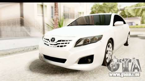Toyota Camry GL 2011 pour GTA San Andreas
